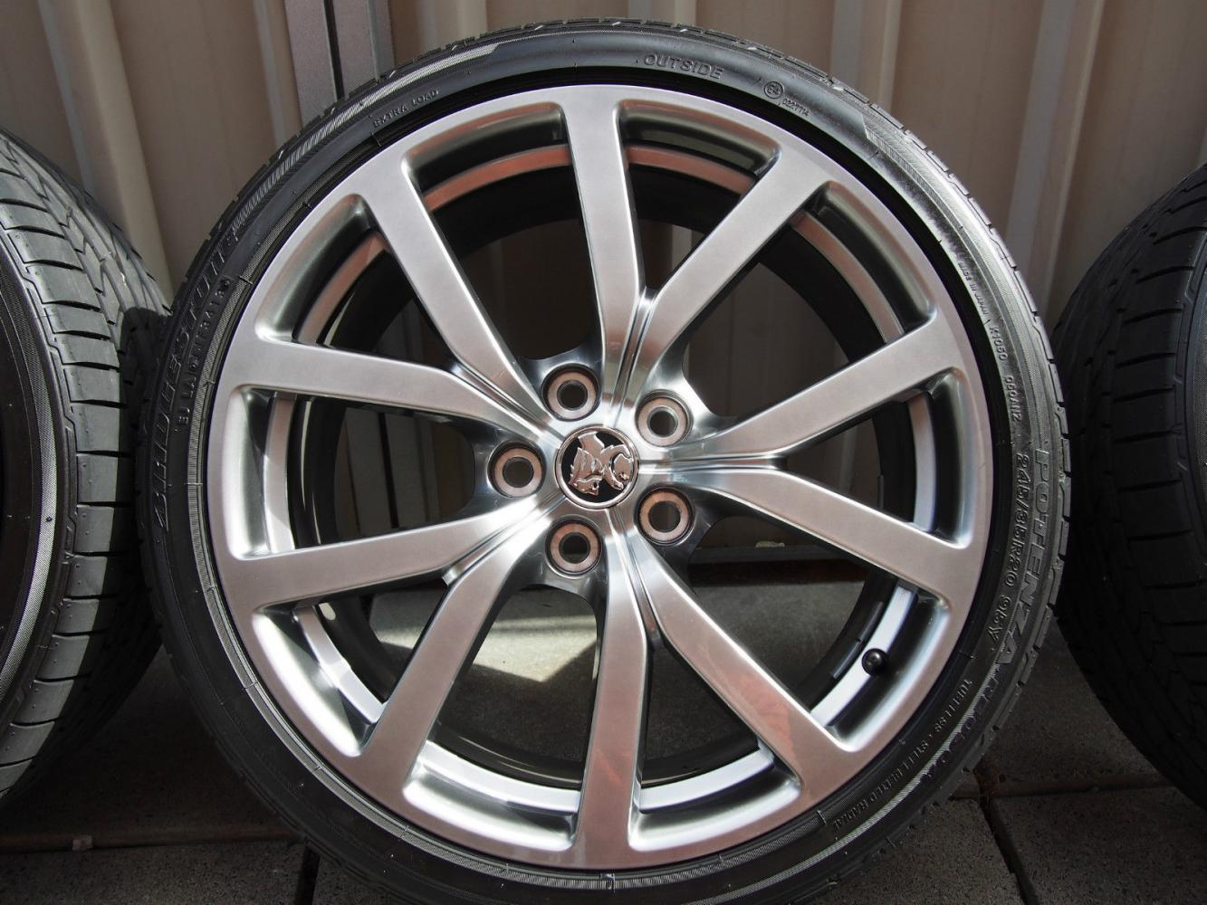 VIC] - Holden HSVi VF Commodore HF-20 Forged Alloy Wheels