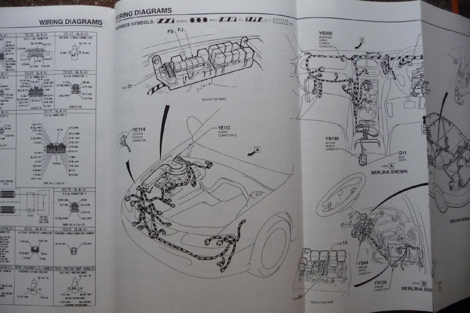 vt service manual schematics? (to replace door wiring loom vt commodore wiring diagram pdf at mifinder.co