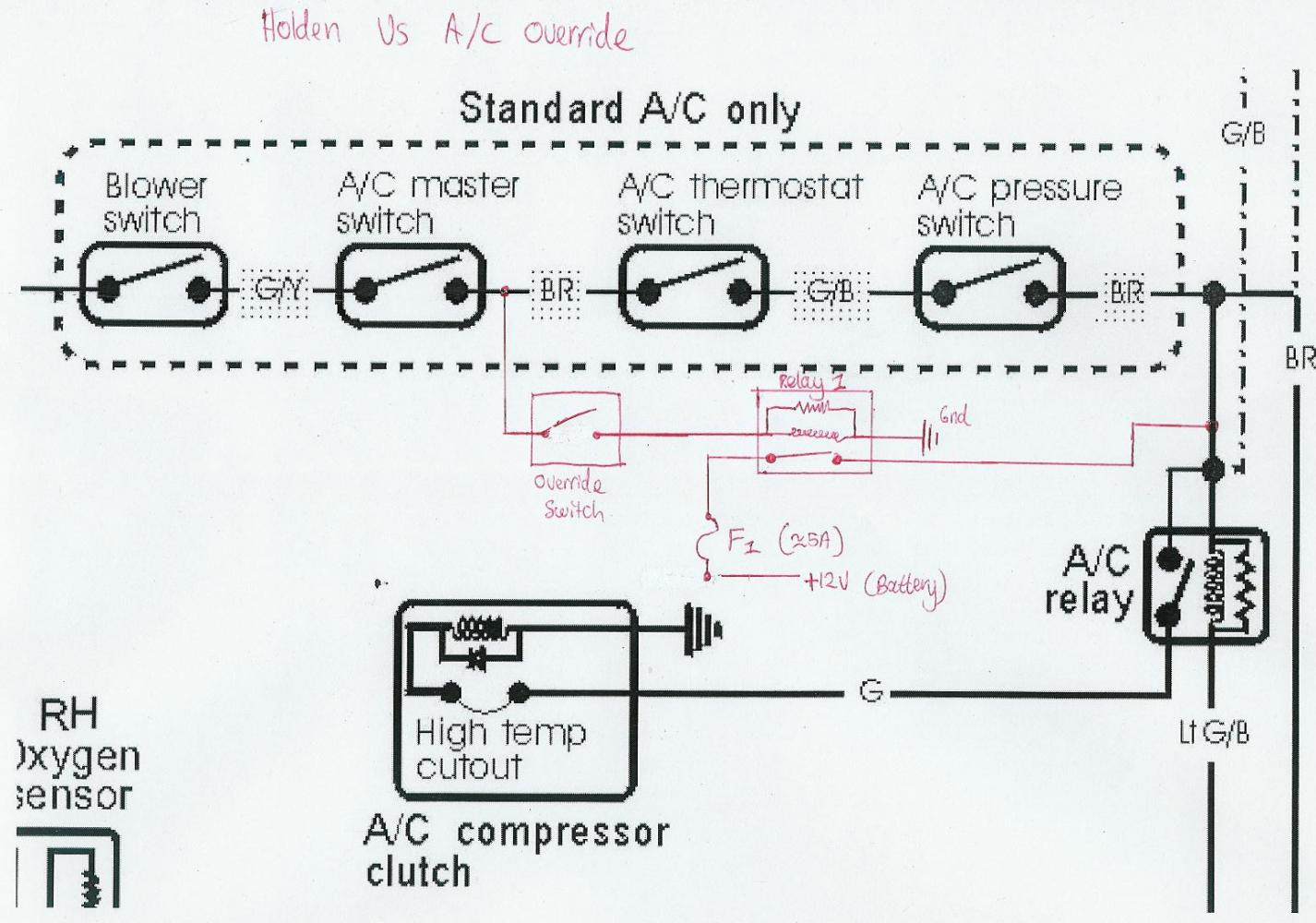 Vs commodore air conditioning wiring diagram example