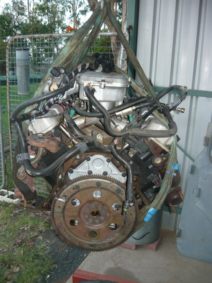vt transmission replacement   Just Commodores