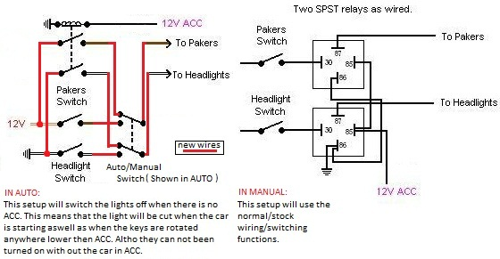 vp headlight wiring diagram diy wiring diagrams u2022 rh dancesalsa co Basic Headlight Wiring Diagram 3 Wire Headlight Wiring Diagram