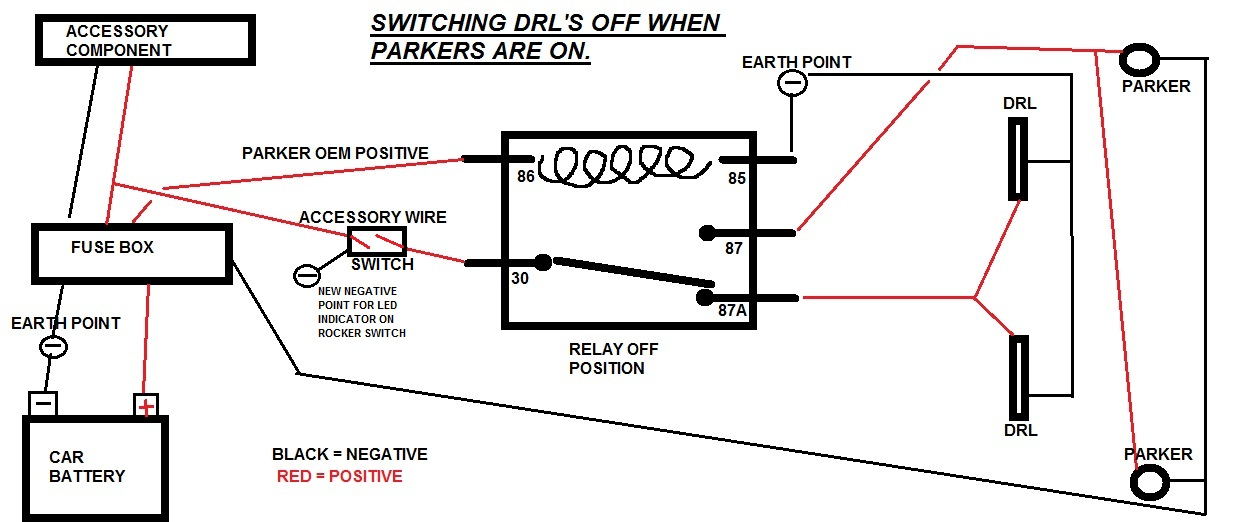 relay wiring is my diagram correct just commodores drl off when parker on switch overrride jpg