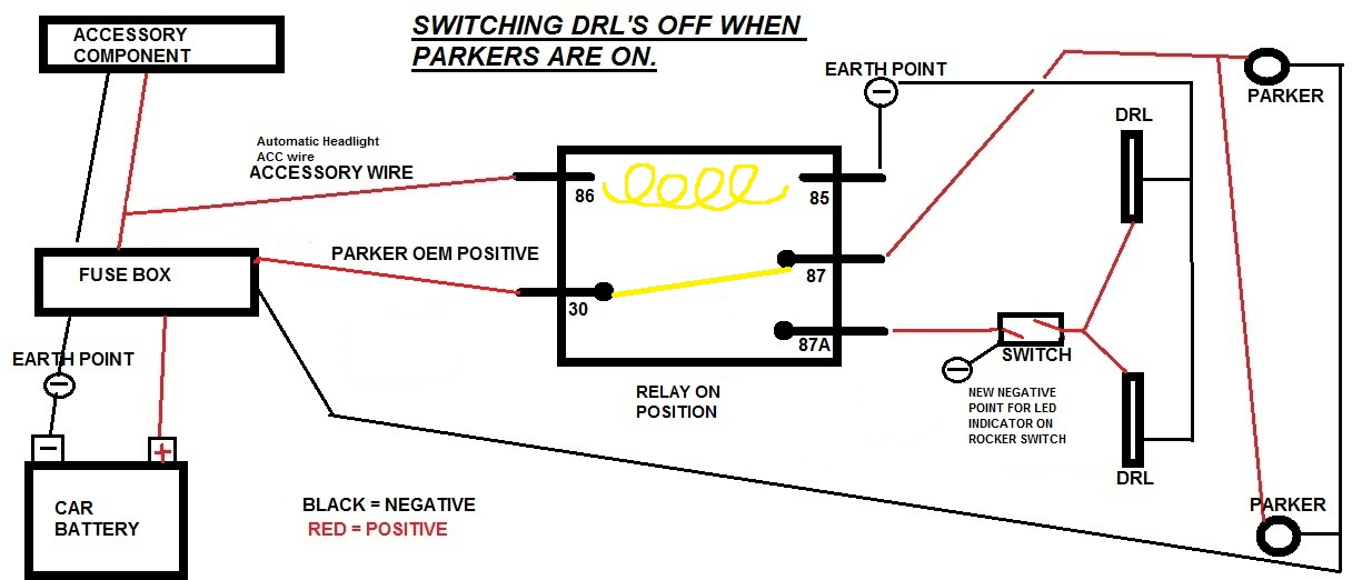 parker wiring diagram diy wiring diagrams \u2022 zone valve wiring schematic relay wiring is my diagram correct just commodores rh forums justcommodores com au parker p38 wiring diagram parker trailer wiring diagram