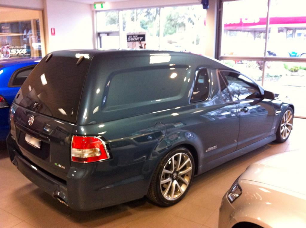 IMG_7092.jpg & 2011 SII VE SSV Ute (Sandman Canopy Panel Van - call it what you ...