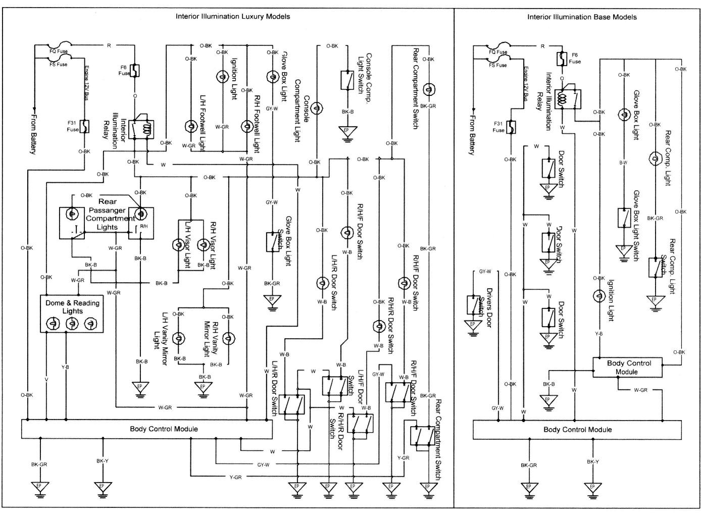 Vt Commodore Interior Light Wiring Diagram Central Locking Simple Electronic Circuits