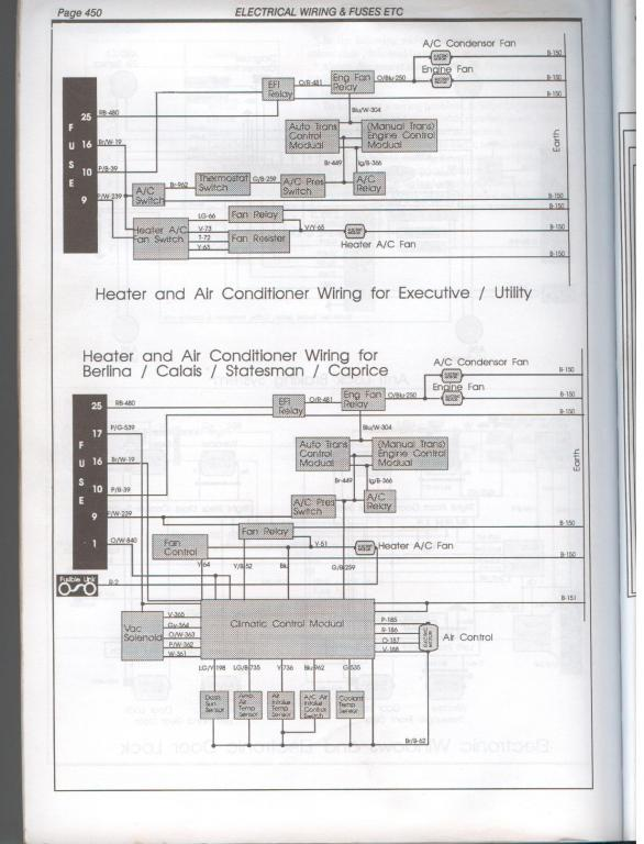 air conditioning system diagram Just Commodores