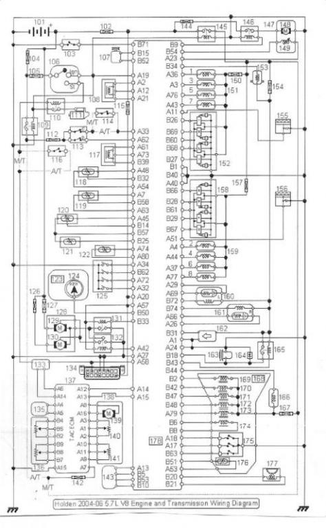 wiring diagram | Just Commodores