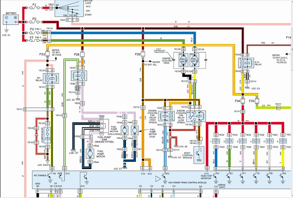 Vx V8 Wiring Diagram - Introduction To Electrical Wiring Diagrams •
