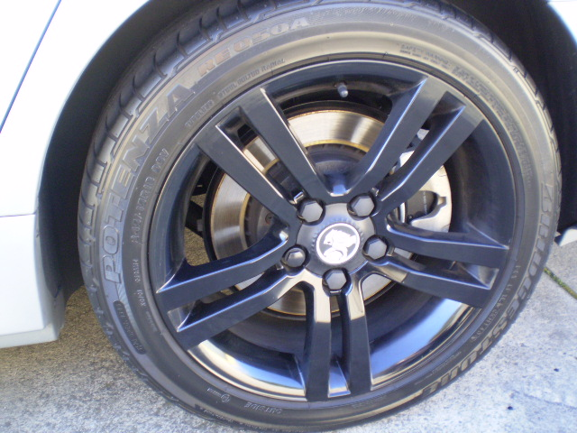 SV6 rims paint job | Just Commodores