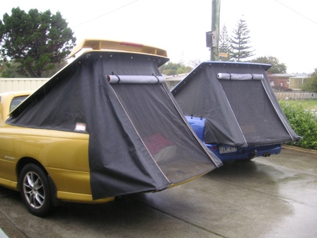 Anyone heard of these? Or even better where you can buy them from? & Ute Tent? | Just Commodores