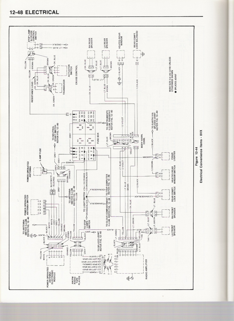 vc sl e power antenna problems just commodores vl commodore wiring diagram at gsmportal.co