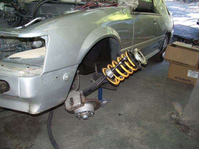 Removal of front springs? | Just Commodores