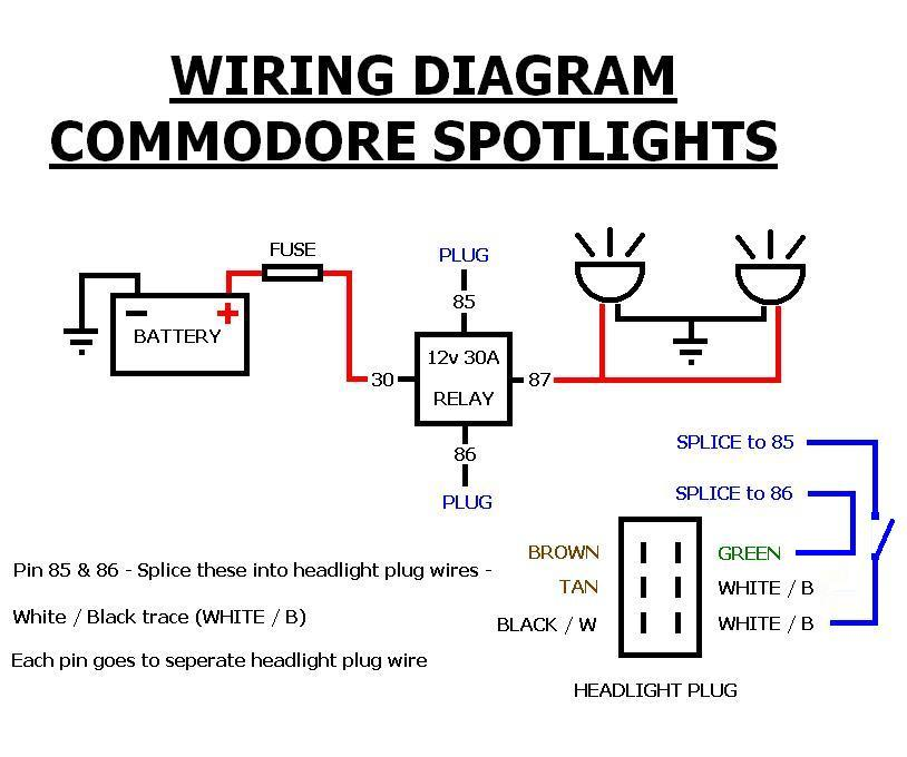 general] how to wire up spot lights (vx, vy, vz and possibly vx stereo wiring diagram at aneh.co