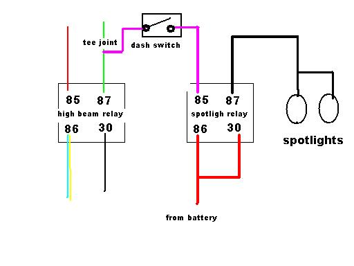 vs spotlight fiascco just commodores spotlight wiring diagram with relay at edmiracle.co