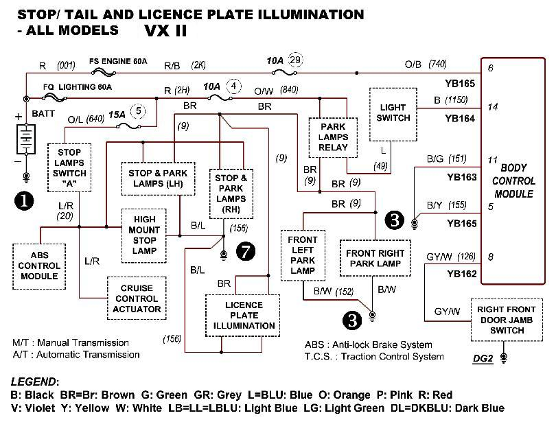 help need wiring diagram for vx executive series ii just commodores rh forums justcommodores com au vw wiring diagram 1964 vw wiring diagrams free downloads