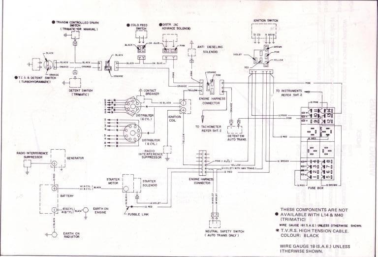 wiring diagram for engine harness vb vh v8 (part ii) just commodores vk commodore wiring diagram at eliteediting.co