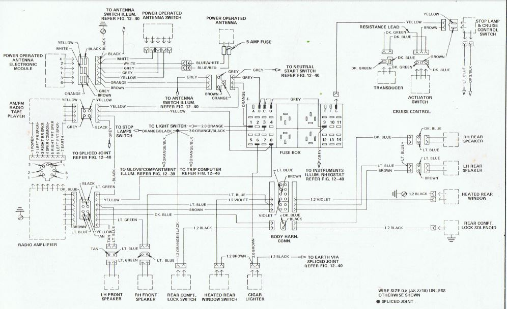 retro fit aftermarket elec aerial into vh sle just commodores vk commodore wiring diagram at eliteediting.co