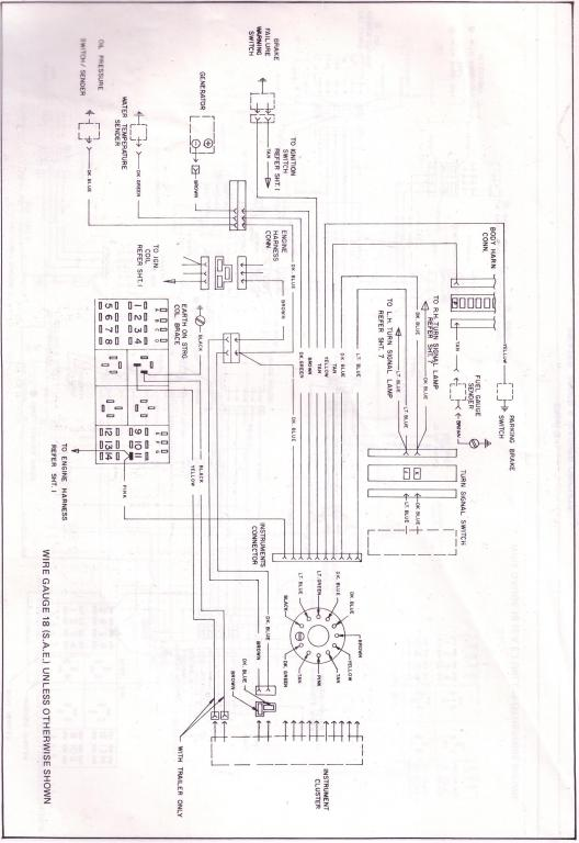 wiring diagram for engine harness vb vh v8 just commodores 1999 Ram 1500 5.2L V8 at readyjetset.co