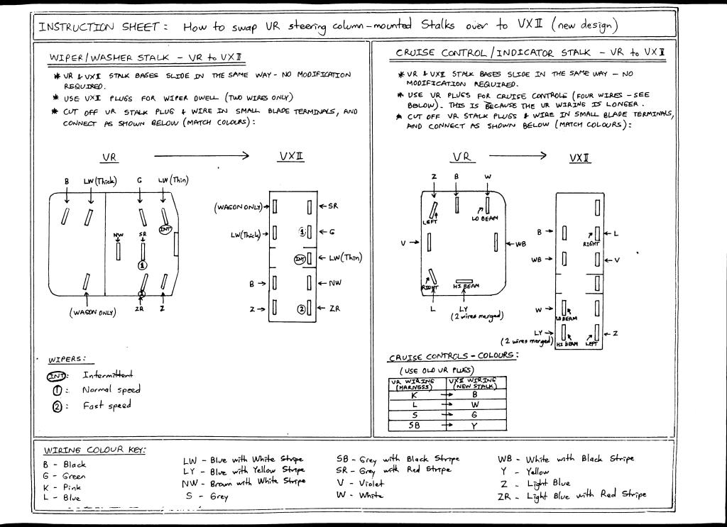 vy headlight wiring diagram wiring diagram