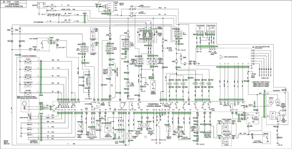 pcm wiring diagram