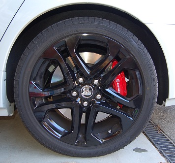 VF2 S2 Redline wheels - 2 versions? | Just Commodores